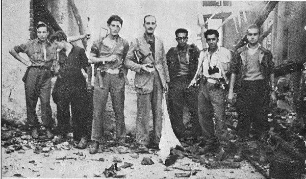Giorgio Marincola & Partisan Fighters